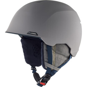 Alpina Albona Helm, grey/curry matt